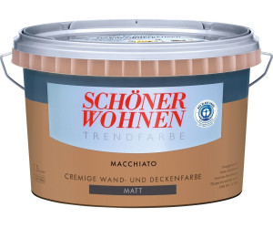 Schöner Wohnen Trendfarbe seidenglänzend 2,5 l Macchiato ab ...