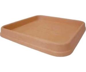 Untersetzer BIANCA quadratisch aus Kunststoff in anthrazit