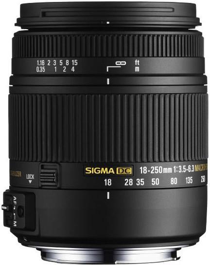 Sigma 18-250 mm f3.5-6.3 DC Macro OS HSM [Sigma]