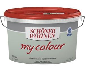 sch ner wohnen my colour 5 l ab 20 36 preisvergleich bei. Black Bedroom Furniture Sets. Home Design Ideas