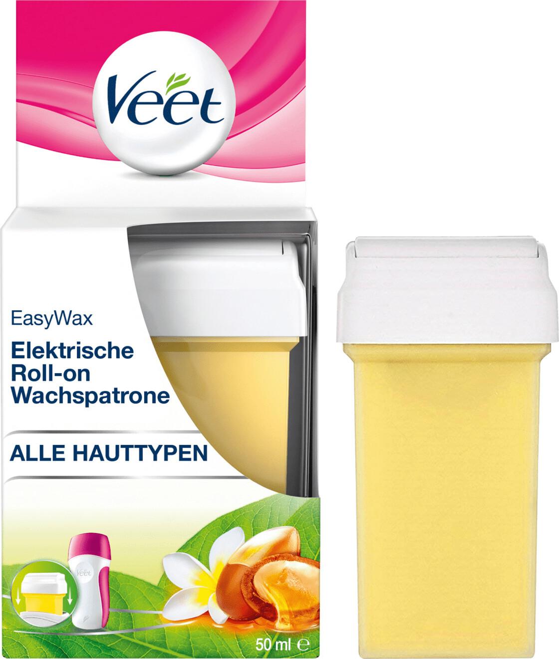Veet Easy Wax Elektrisches Warmwachs Roll-on Sy...