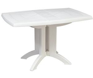 Grosfillex Table Pliante Vega Blanc 118 X 77 Cm Au Meilleur Prix