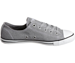 Converse Chuck Taylor All Star Dainty Low charcoal (Damen) (532353C) ab € 44,95