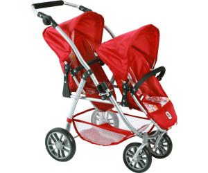 Puppenwagen Bayer Chic 2000 689 87 Tandem-Buggy VARIO Babypuppen & Zubehör