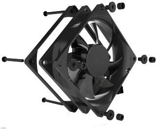 Vorschaubild von Noiseblocker BlackSilent Pro PC-P 80mm