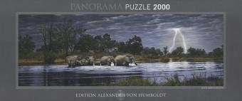 Heye Alexander von Humboldt - Herd of Elephants (2.000 Teile)