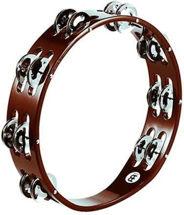 Meinl - Hand Tambourine TA2AB, Steel Jingles