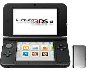 Nintendo 3DS XL silver-black