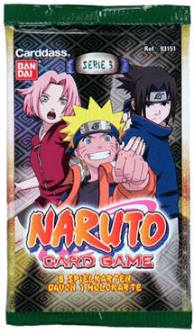 Bandai Naruto - Serie 3 Booster