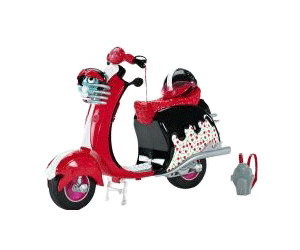Monster High - Scooter di Ghoulia