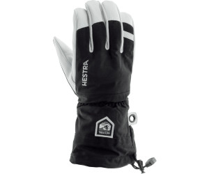 Hestra Army Leather Heli Ski 5 Finger Skihandschuhe Black