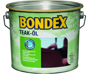 Bondex Teak-Öl teak 2,5 l ab 23,99 € | Preisvergleich bei ...