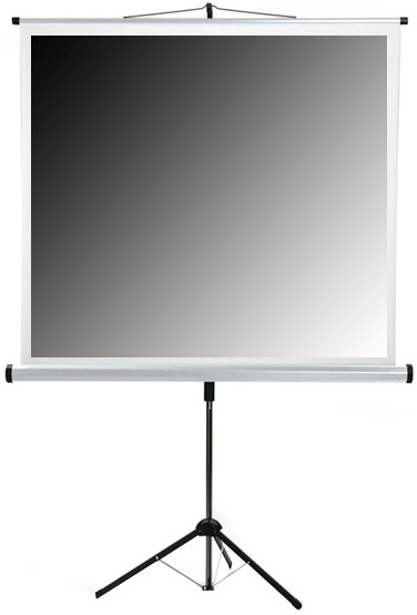 MEDIUM Stativ-Leinwand Professional 180x180cm