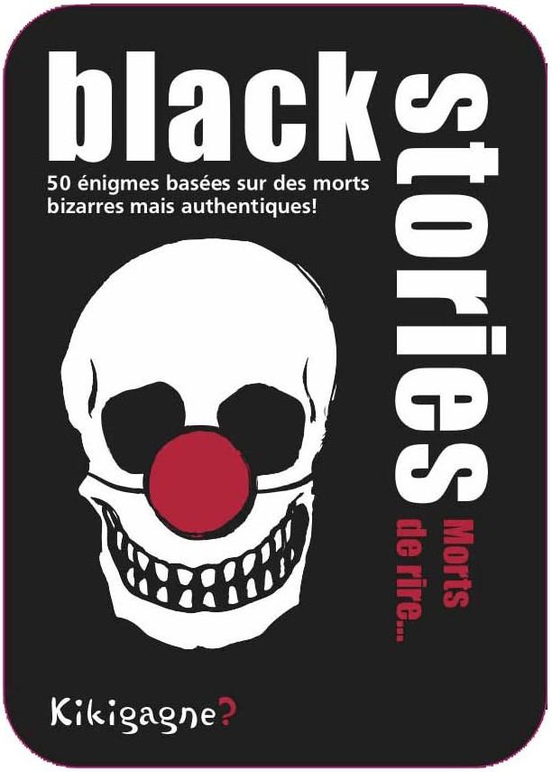 Kikigagne Black Stories - Morts de rire... (fra...