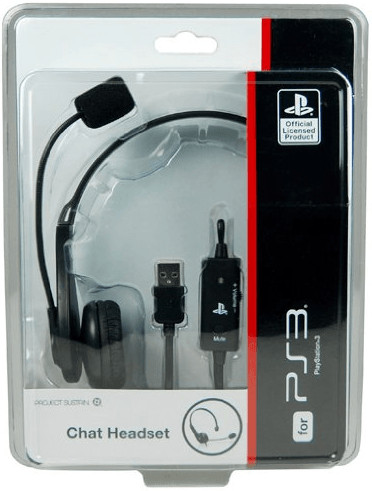 Venom PS3 Chat Headset
