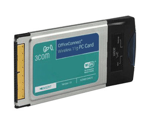 Image of 3com OfficeConnect Wireless LAN PC Card (3CRWE154G72)