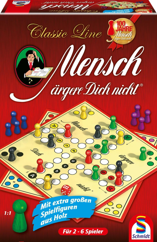 Schmidt-Spiele Classic Line Mensch ärgere Dich nicht (49085)