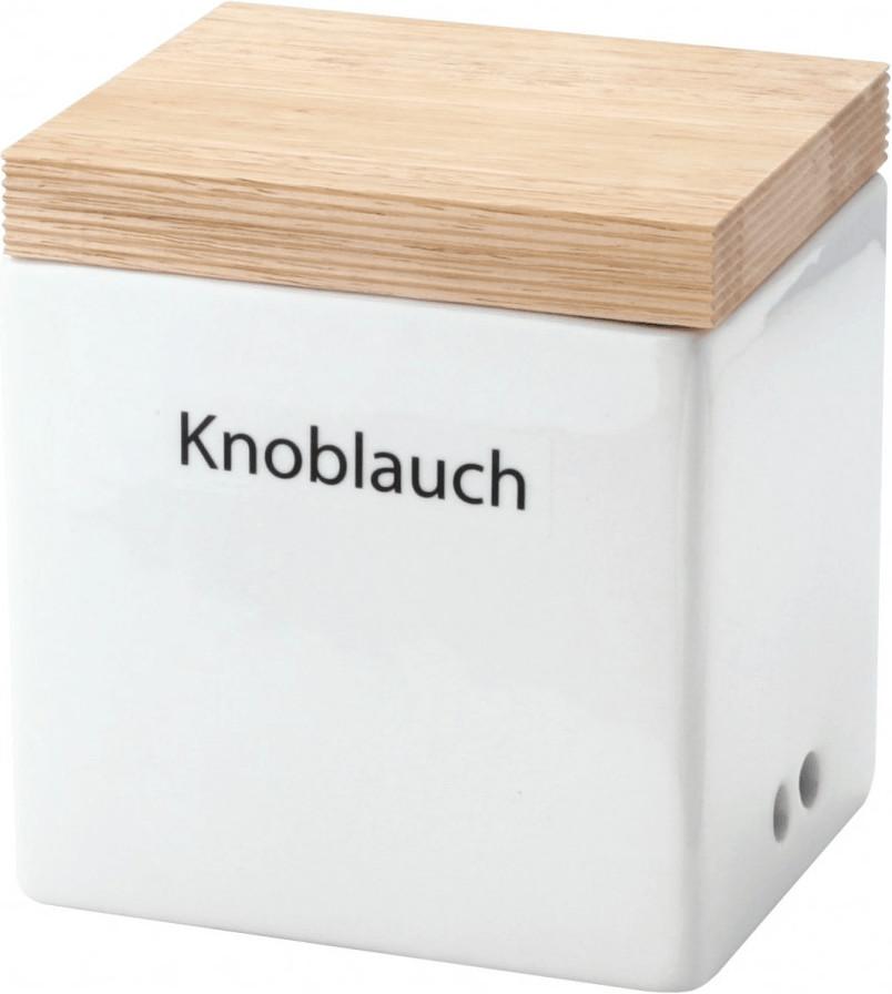 Continenta Vorratsdose Keramik Knoblauch