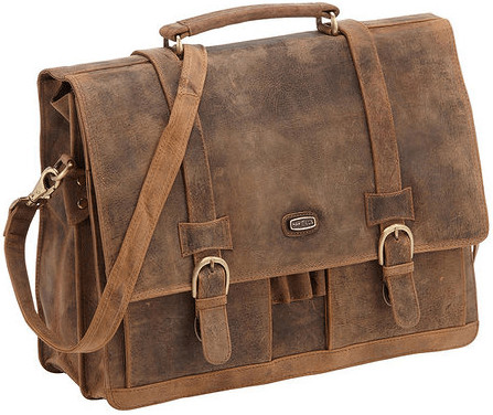 Harold's Antico large Case Leather 41 cm (78903) brown