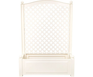 khw pflanzkasten mit spalier 100 x 140 cm wei ab 57 99 preisvergleich bei. Black Bedroom Furniture Sets. Home Design Ideas