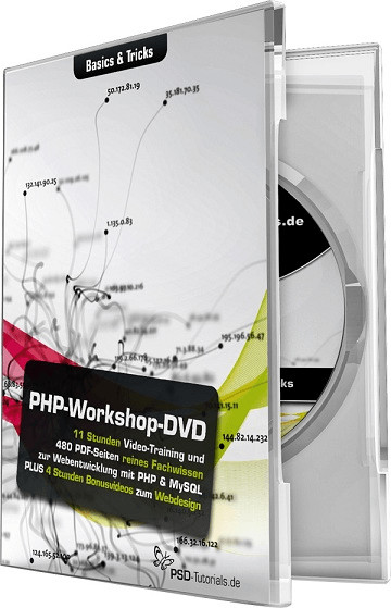 PSD-Tutorials PHP-Workshop-DVD - Basics & Trick...