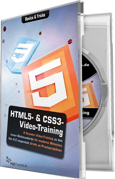 PSD-Tutorials HTML5- & CSS3-Video-Training (DE)...