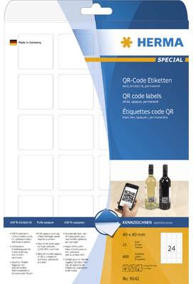 Herma QR-Code Etiketten, 40x40 mm (9642)