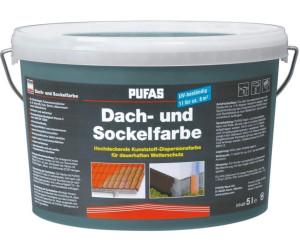 pufas dach und sockelfarbe 5 l verschiedene farben ab 28 49 preisvergleich bei. Black Bedroom Furniture Sets. Home Design Ideas