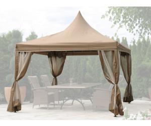 grasekamp lounge pavillon 4 x 4 m ab 263 85 preisvergleich bei. Black Bedroom Furniture Sets. Home Design Ideas