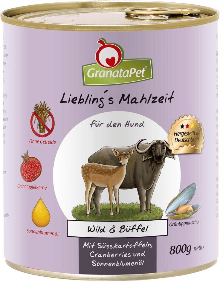 GranataPet Lieblingsmahlzeit Wild, Süßkartoffel...