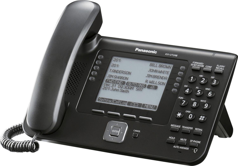 Panasonic KX-UT248NE - schwarz