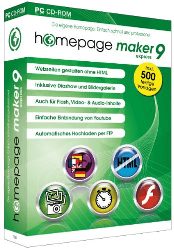 bhv Homepage Maker 9 Express (DE) (Win)