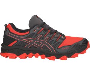 ASICS Laufschuhe Trail Gel Fujitrabuco 5 Herren schwarzrot, Größe: 42