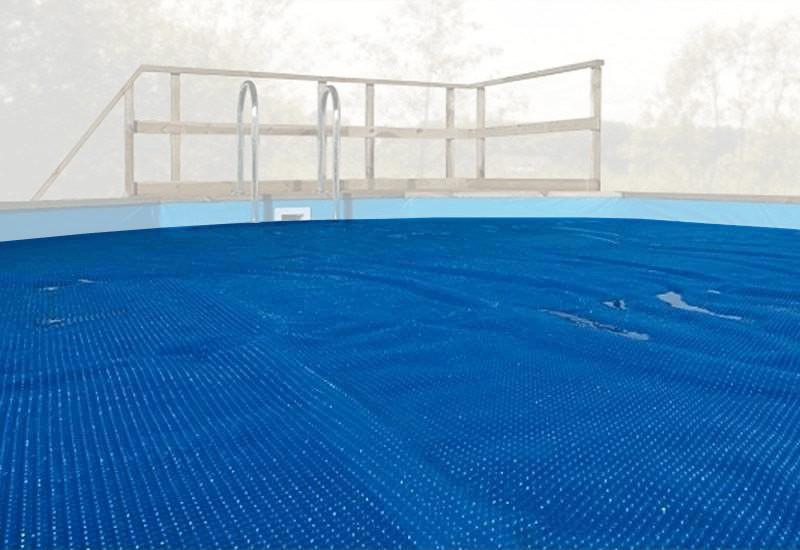 Weka Wärmeplane Pool Korsika 2 - 571 x 471 cm