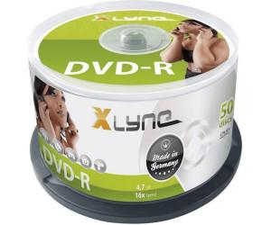 xlyne DVD-R 4,7GB 16x 50er Spindel