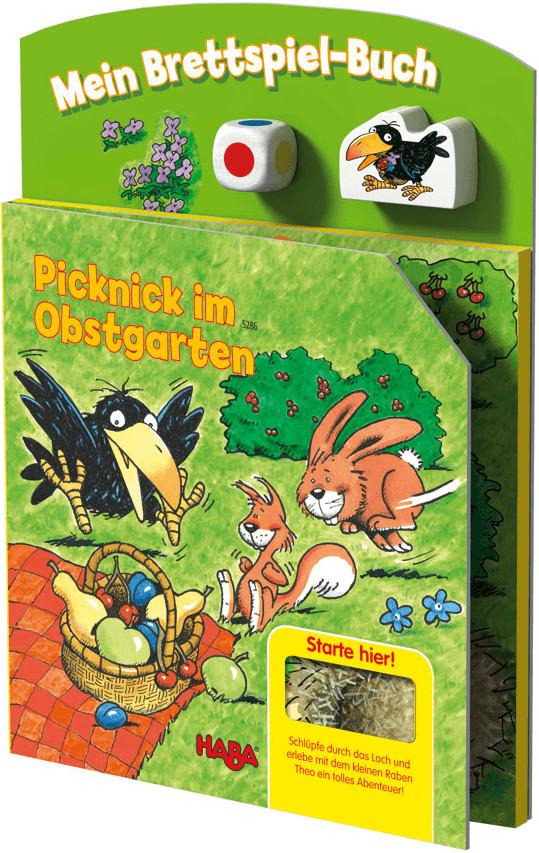 HABA Mein Brettspielbuch - Picknick im Obstgarten