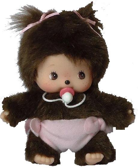 Bandai Bebichhichi - Mädchen mit Windel 15 cm