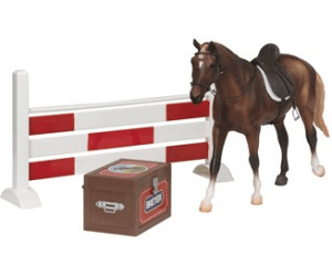 Image of Breyer Classics Show Jumping Resin Horse Accessory Set