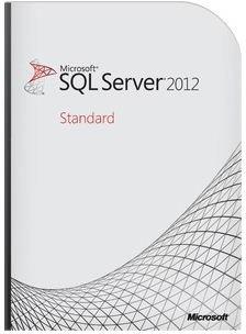 Microsoft SQL Server 2012 Standard Edition (10 ...