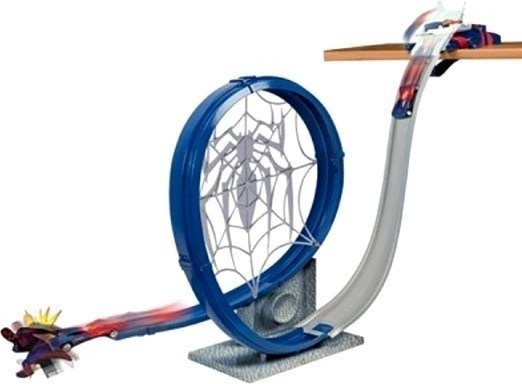 Majorette Spider-Man Loop Launch Track Set (9716)