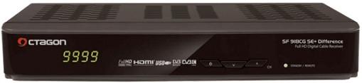 Octagon SF918CG SE+ CI+ DVB-C Full HD Difference