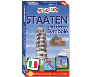 Memotrio - Staaten und deren Symbole