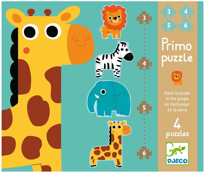Primo Puzzle - im Dschungel