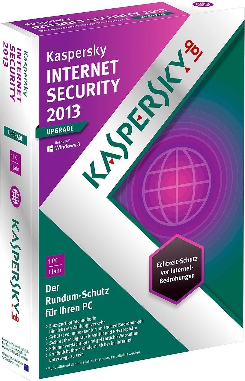 Image of Kaspersky Internet Security 2013 Upgrade (1 User) (1 Year) (DE) (Win)