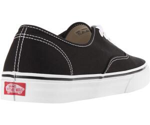 scarpe vans authentic nere