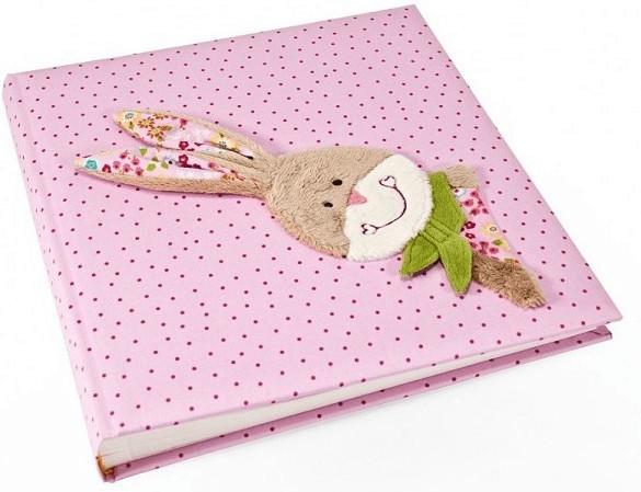 Goldbuch Babyalbum Stoff Bungee Bunny 30x31/60