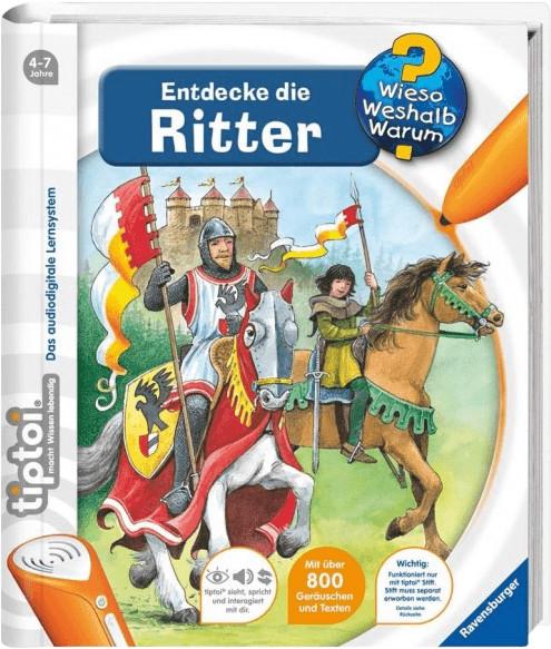 Ravensburger tiptoi - Wieso? Weshalb? Warum?: Entdecke die Ritter