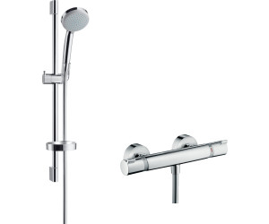 hansgrohe combi croma 100 vario ecostat comfort 27034 au meilleur prix sur. Black Bedroom Furniture Sets. Home Design Ideas