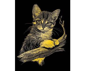 Neu MAMMUT Spiel und Geschenk Sequin Art Blue Katze 8350372