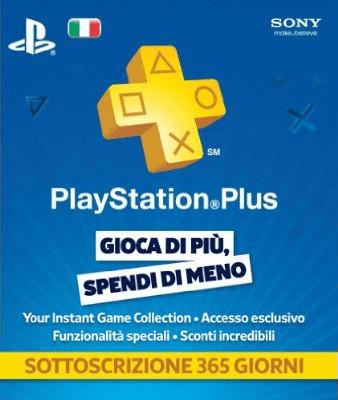 Sony PlayStation Plus Suscripción de 365 Días (IT)